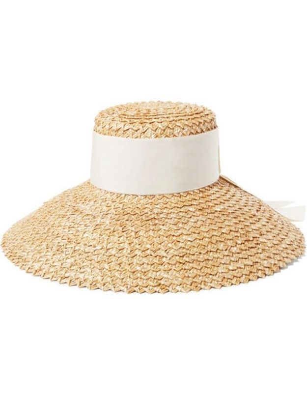 Chapeau de paille Eugénia Kim