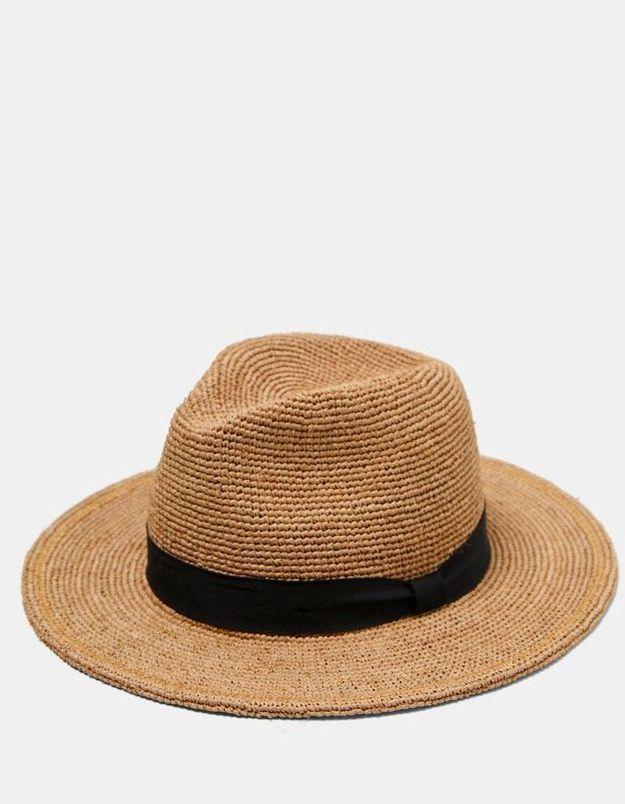 Chapeau de paille Zara