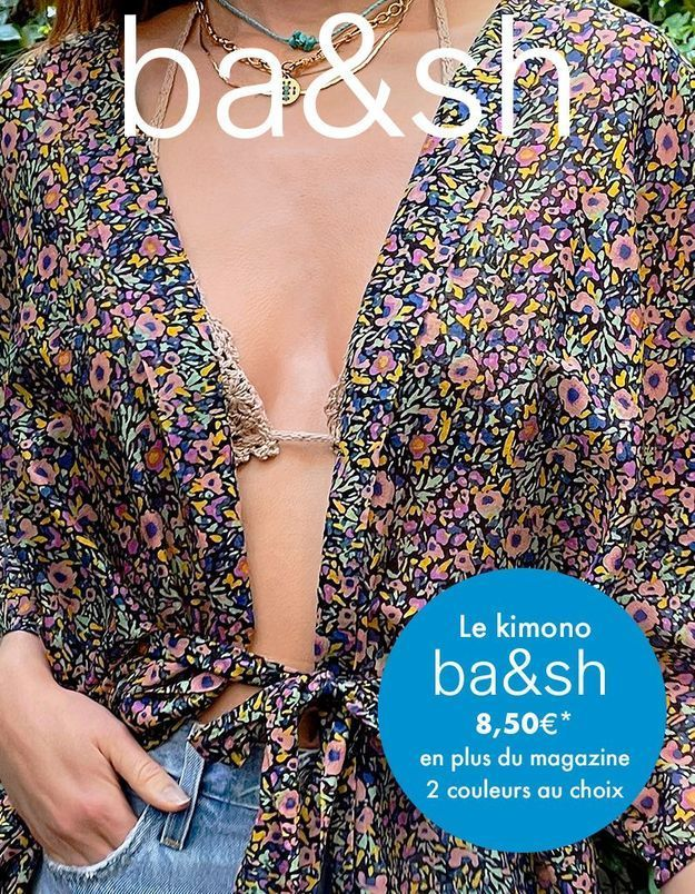En exclusivité cette semaine avec ELLE : votre kimono ba&sh !