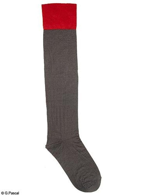 Mode tendance look shopping accessoires chaussettes hautes calvin klein bon marche