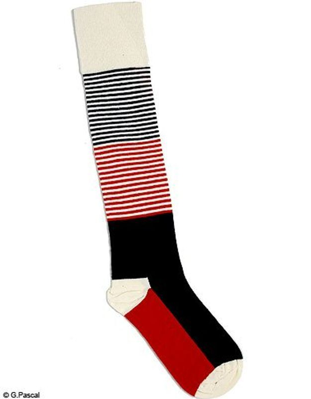Mode tendance look shopping accessoires chaussettes hautes happy socks