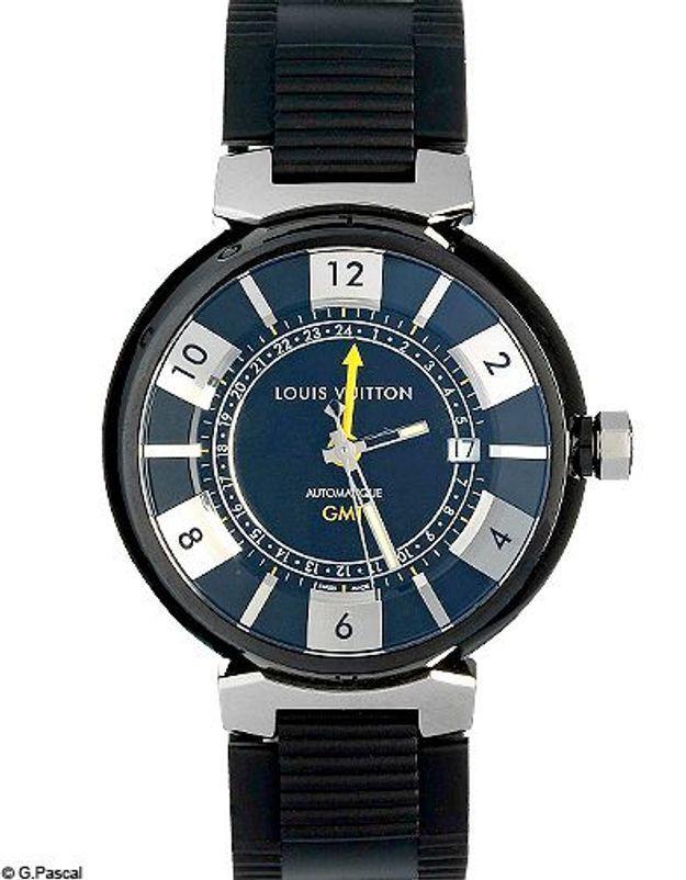 Mode shopping tendances hommes accessoires montres louis vuitton