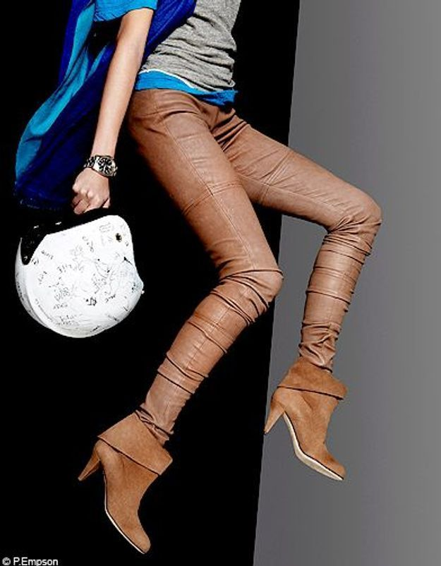 Mode guide shopping tendance look conseils accessoires boots talon
