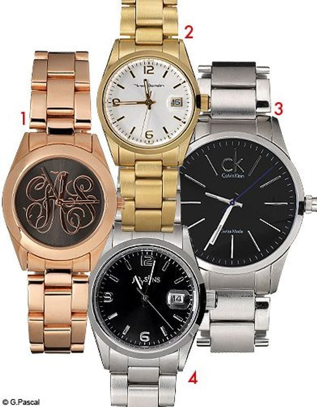 Mode guide shopping tendance look conseils accessoires montres acier