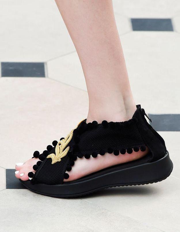 Chaussures Burberry printemps-été 2016