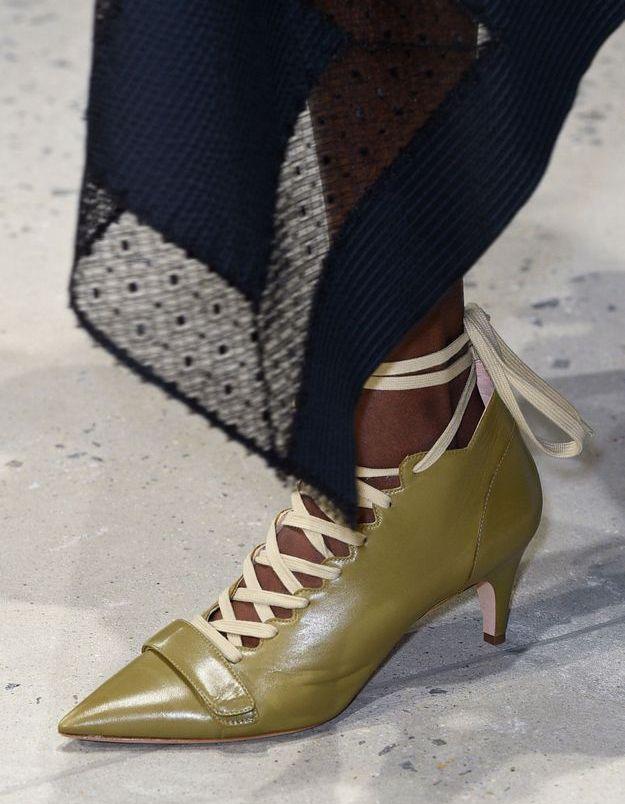 Chaussures Derek Lam printemps-été 2016