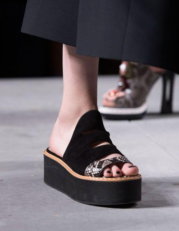 Chaussures Fendi printemps-été 2016