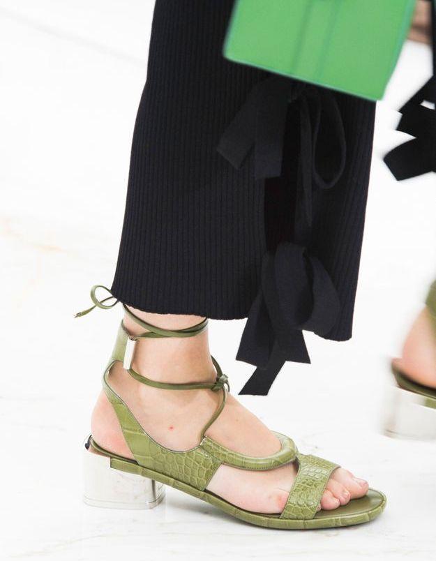 Chaussures Ferragamo printemps-été 2016