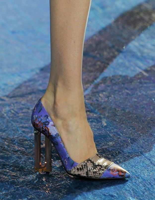 Chaussures Katrantzou printemps-été 2016