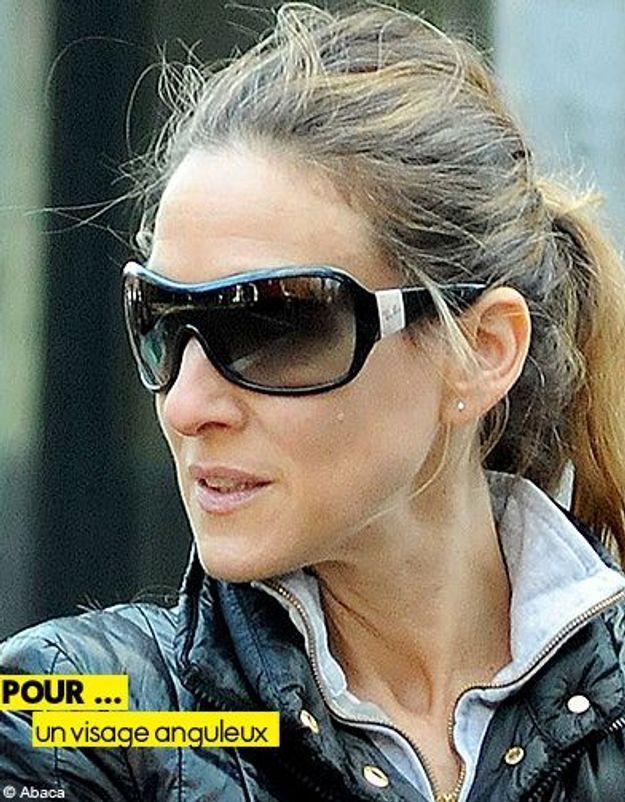 Mode tendance guide shopping lunettes visage anguleux sjp