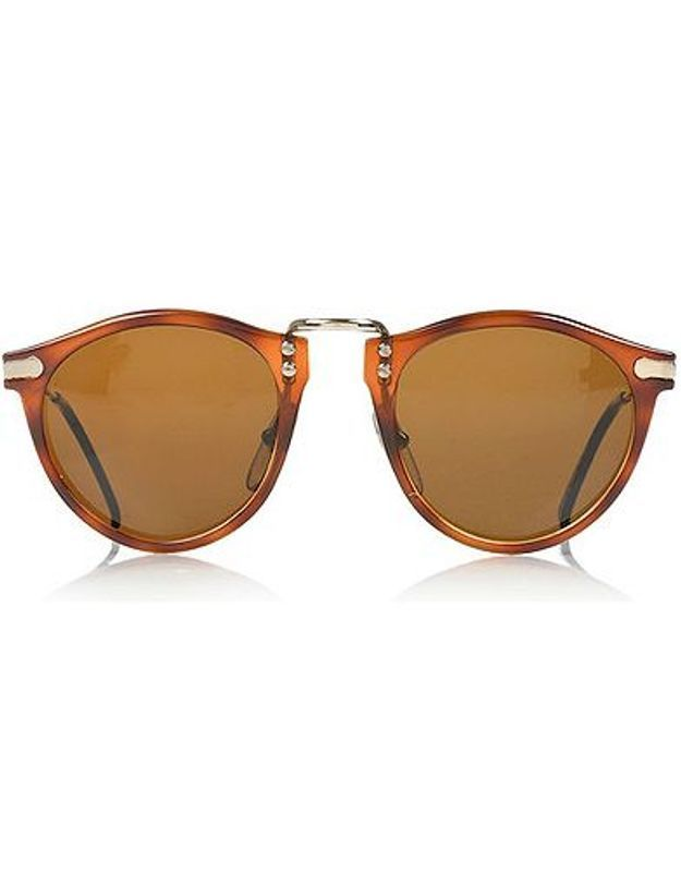 Mode tendance guide shopping lunettes visage rond zebre retrosun