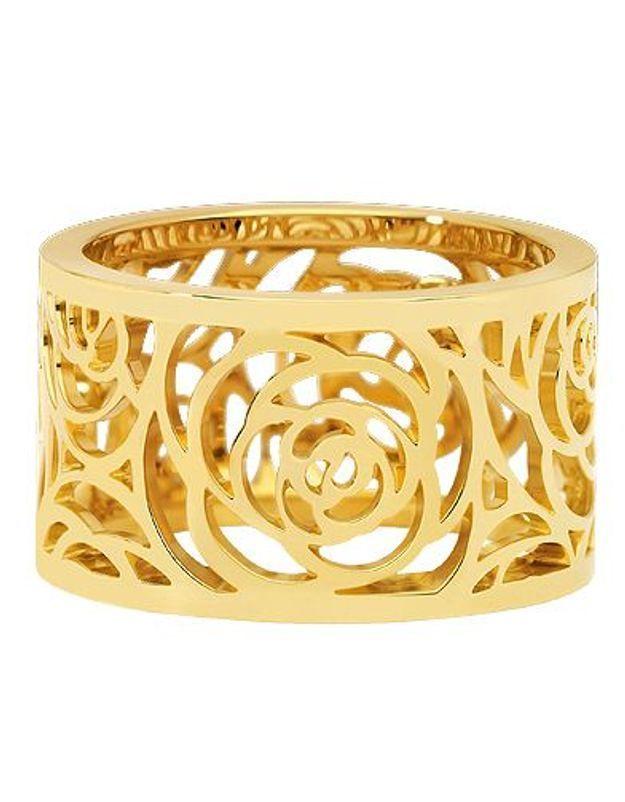 Mode tendance shopping bijoux culte luxe bague camelia