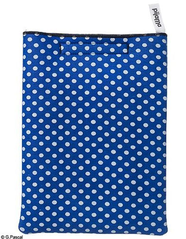 Mode guide shopping tendance look high tech pochette ipad pijama