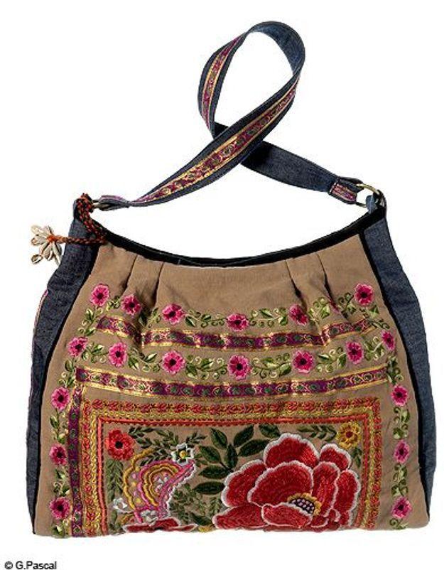 Mode guide shopping tendance look accessoire sac hippie derhy