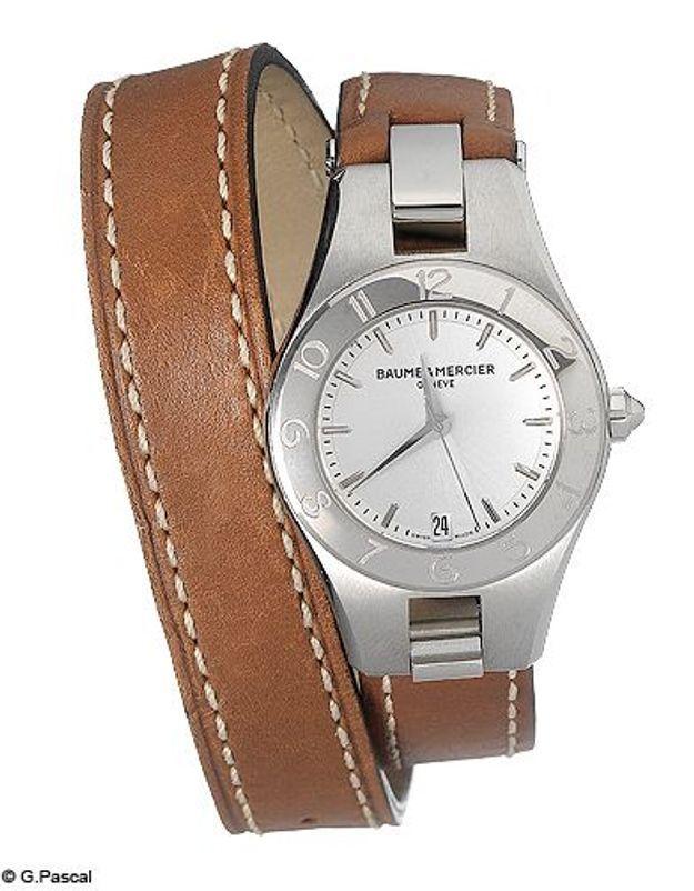 Mode guide shopipng tendance accessoires montres double tour baume mercier
