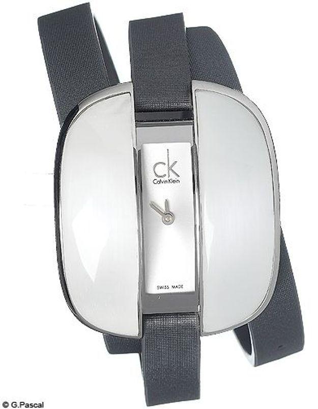 Mode guide shopipng tendance accessoires montres double tour calvin klein