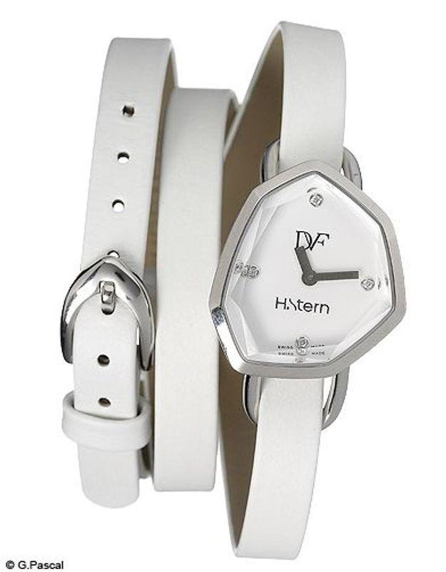 Mode guide shopipng tendance accessoires montres double tour diane von furstenberg