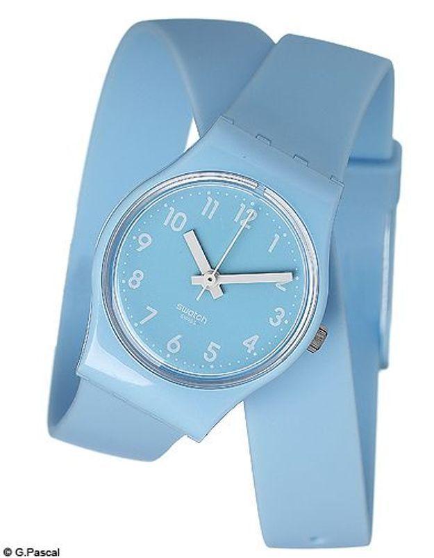 Mode guide shopipng tendance accessoires montres double tour swatch