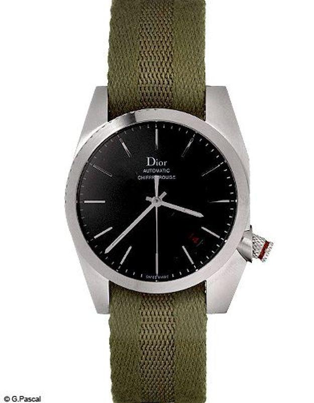 Mode diaporama accessoires montres kaki dior