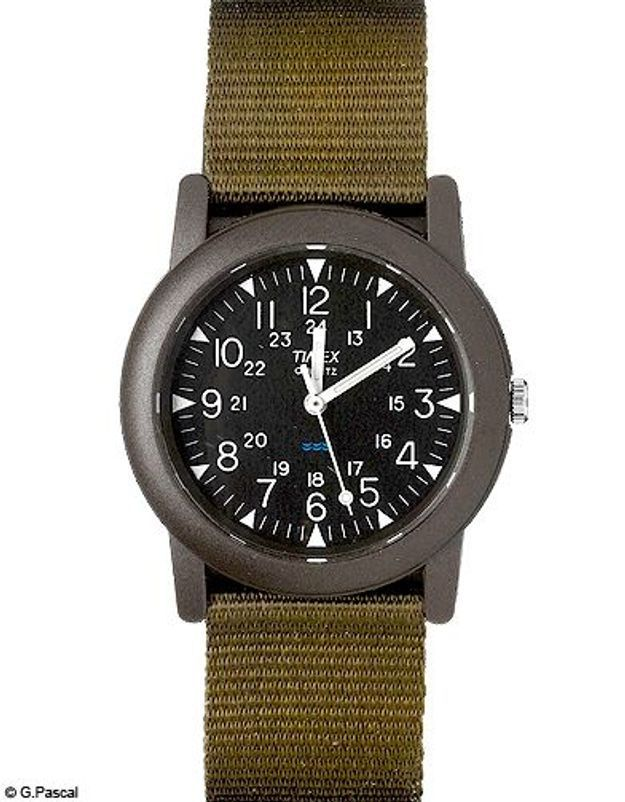 Mode diaporama accessoires montres kaki timex