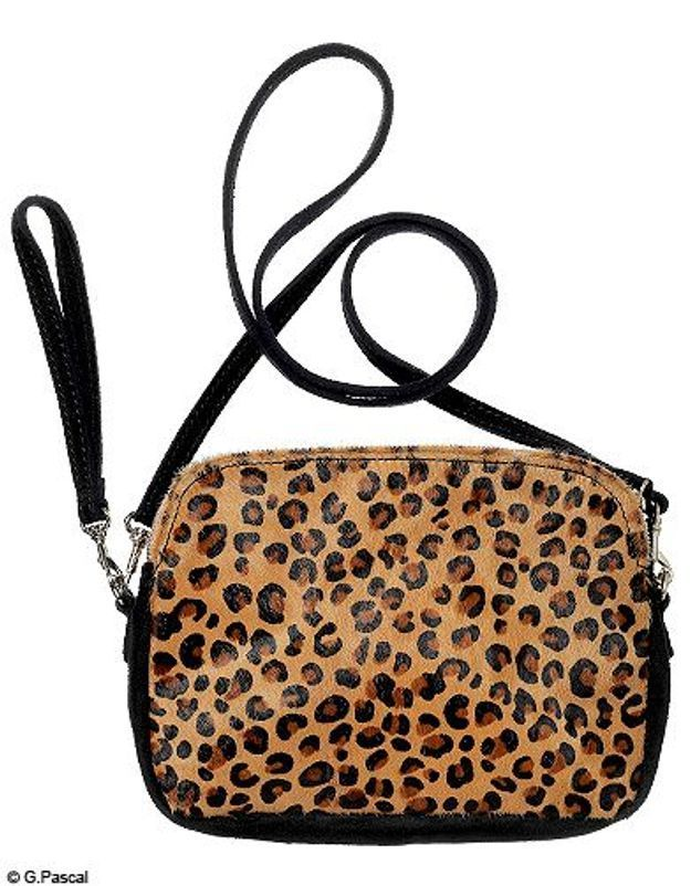Mode guide shopping tendance look leopard sac maje