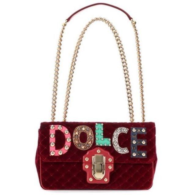 Sac bordeaux Dolce & Gabbana