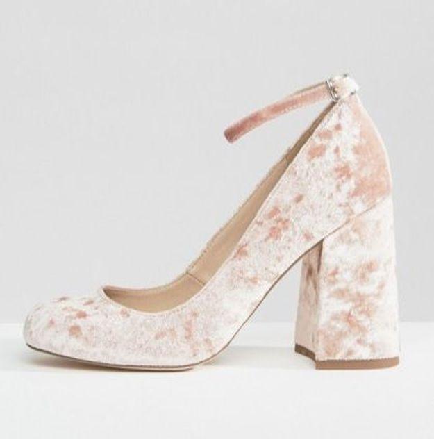 Chaussures en velours Asos