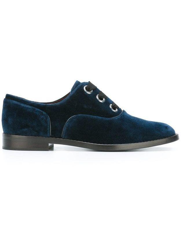 Chaussures en velours Marc Jacobs