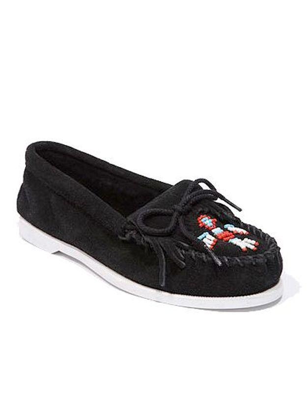Mode guide shopping tendance accessoire chaussure mocassin minnetonka