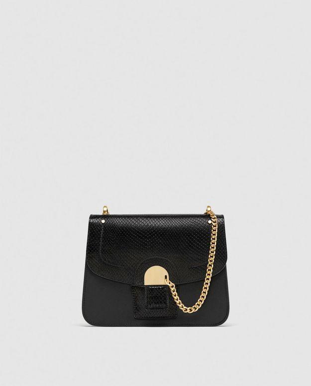 Sac noir Zara
