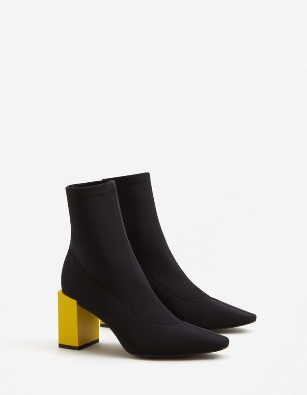 Ankle boots Mango