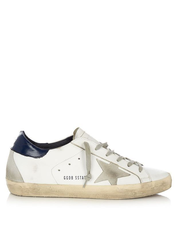 Baskets blanches Golden Goose Deluxe Brand