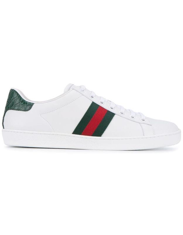 Baskets blanches Gucci