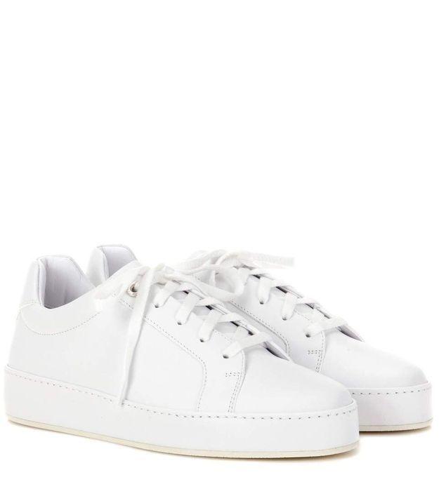 Baskets blanches Loro Piana