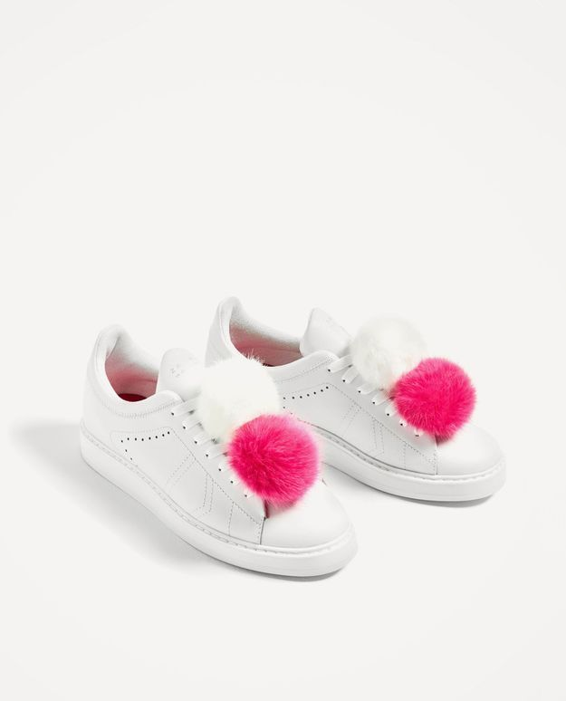 Baskets blanches Zara