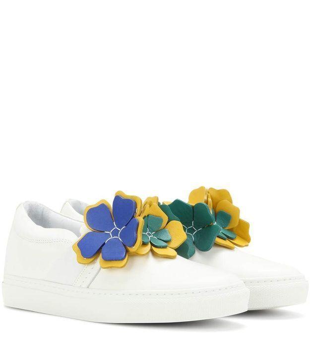 Baskets à fleurs Lanvin