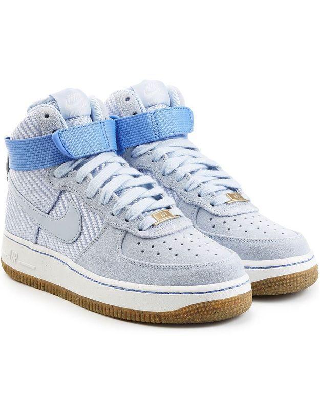 Baskets montantes bleues Nike