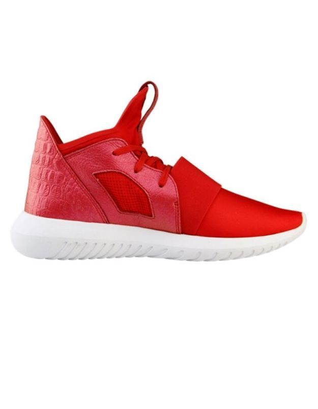 Baskets montantes rouges Adidas