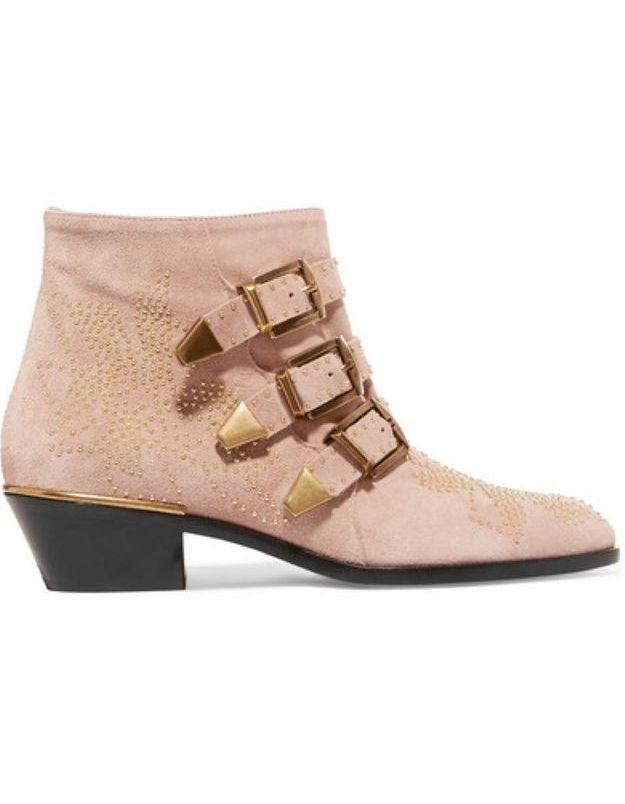 Boots femme Chloé sur Net à Porter