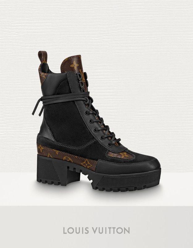 Boots femme Louis Vuitton sur 24 Sèvres