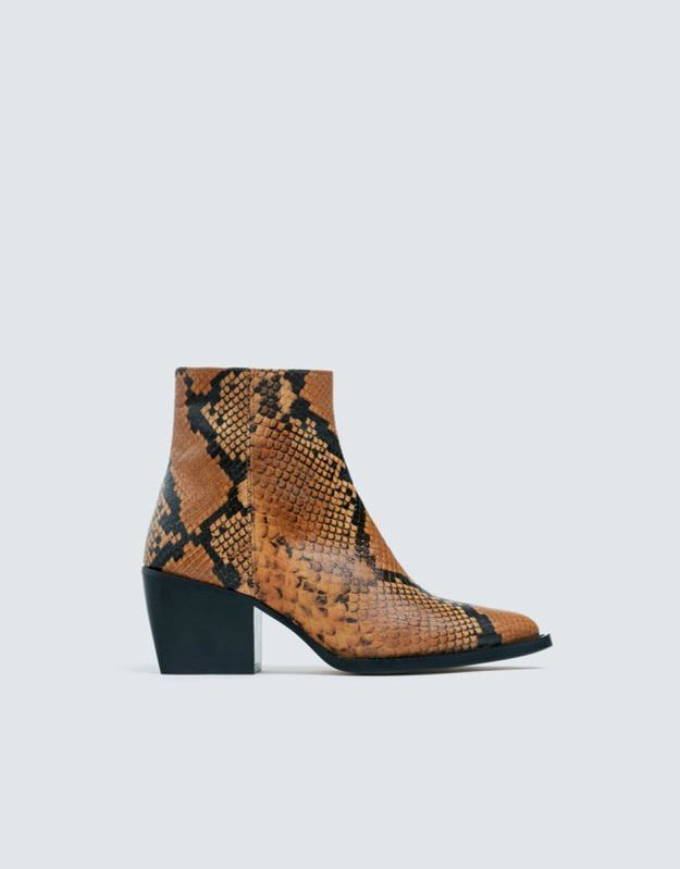 Boots femme Pull & Bear