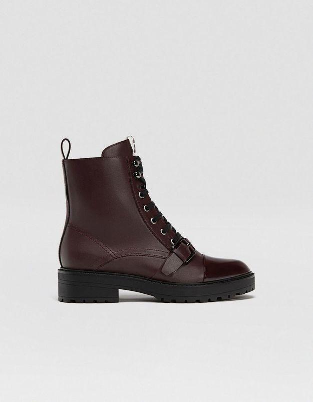 Boots femme Stradivarius