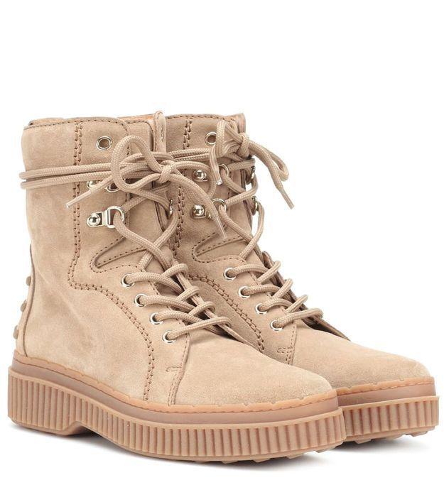 Boots femme Tod's sur Mytheresa