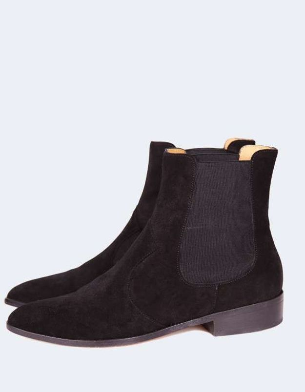 Bottines noires Ba&sh