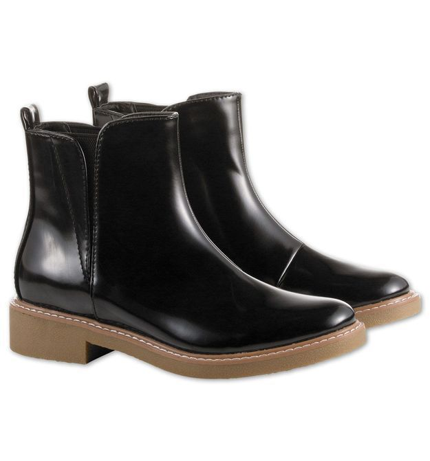 Bottines noires C&A