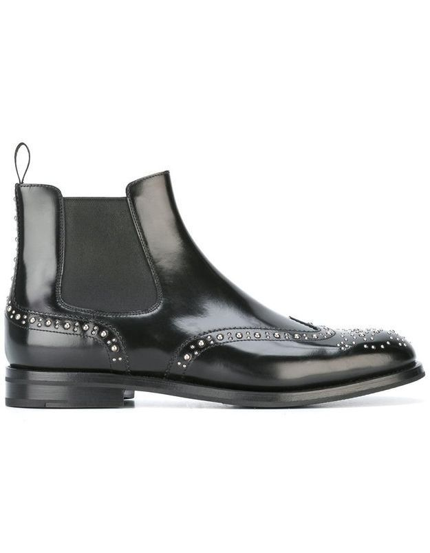 Bottines noires Church's