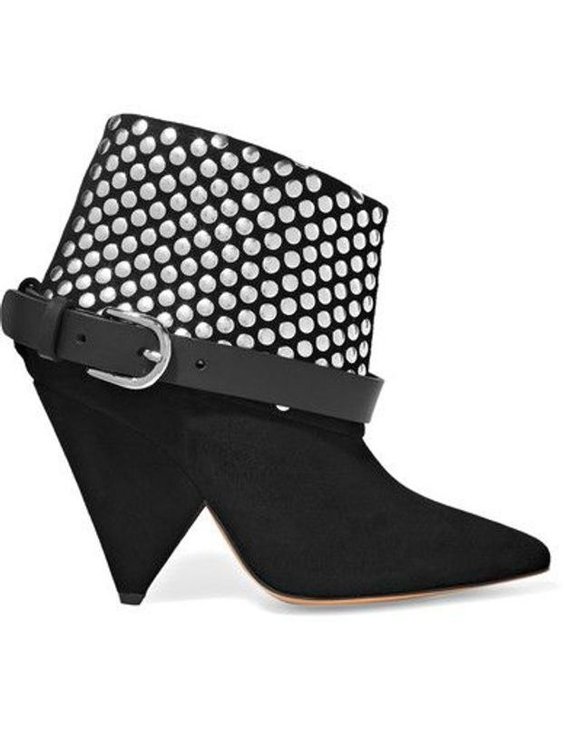 Bottines noires Isabel Marant