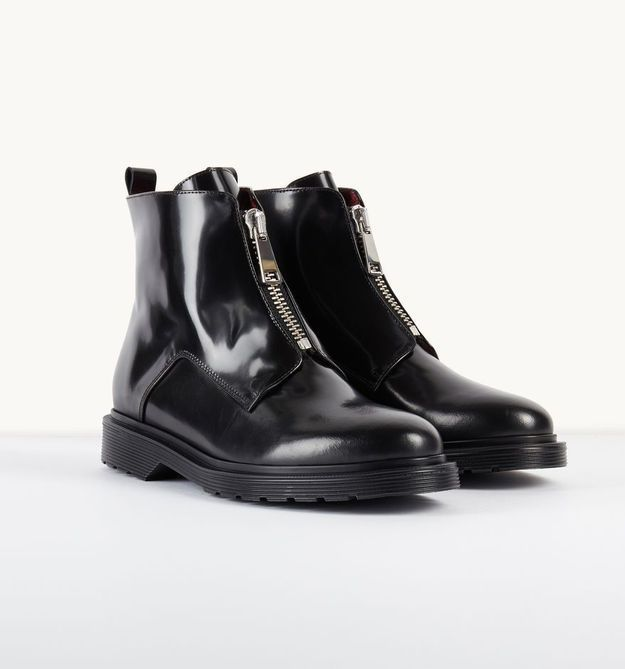 Bottines noires Maje