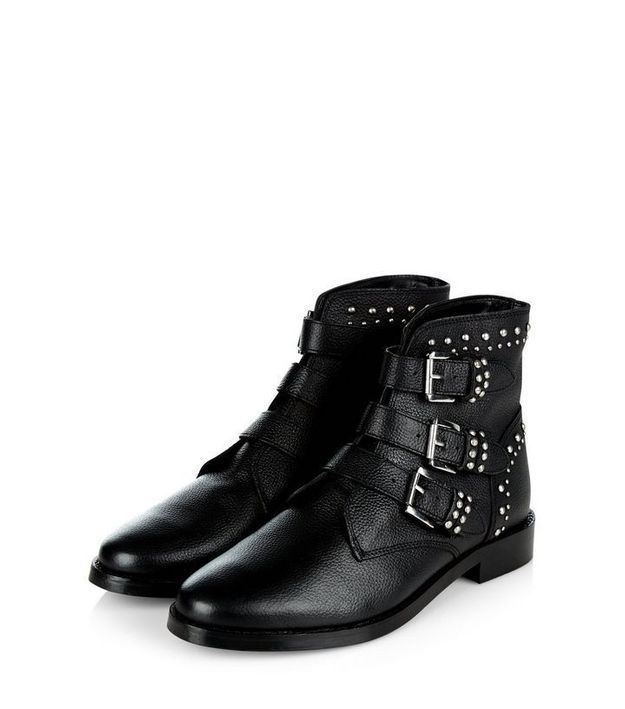 Bottines noires New Look
