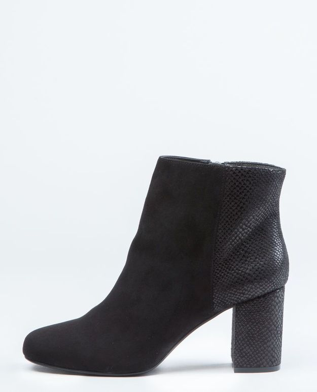 Bottines noires Pimkie